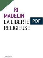 La liberté religieuse - Henri Madelin