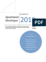 Apartment Square Feet Optimization