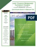 September 11, 2011 Bulletin