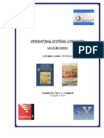 Operating Systems Concepts Manual 2010