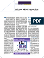 Learn the Basics of HRSG Inspection