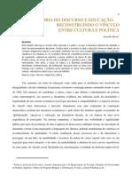 Artigo Teias - Teoria do discurso e educação