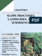 Slope Processes Landslides