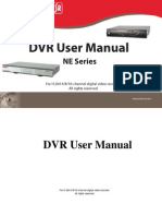 Dvr Sa-4100n Series Manual