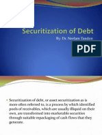 Securitization of Debt