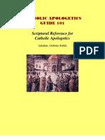 Catholic Apologetics Guide 101