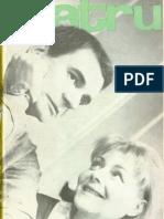 Revista Teatrul, nr. 6, anul XII, iunie 1967