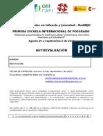Autoevaluacion Escuela de Cartagena 2011