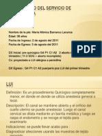 Caso Clinico Del Servicio de Tococirugia Markos