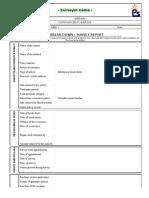 MBD Survey Report Format