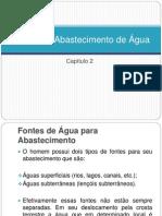 CAP 2 - Fontes de Abastecimento de Água(dia 9)