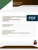 Ekaterina Bazyka Market Update [Condo] MIAMI BEACH 33154