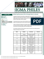 Delta Sigma Philes October 9 2008