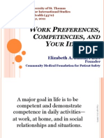 Week 2_Work Preferences Competencies and Ideal Job