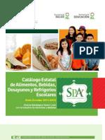 Catalogo de Refrigerios SPA 2011(1)