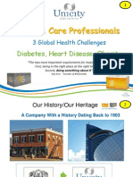 Unicity Builder Model - Health Care Provider Model