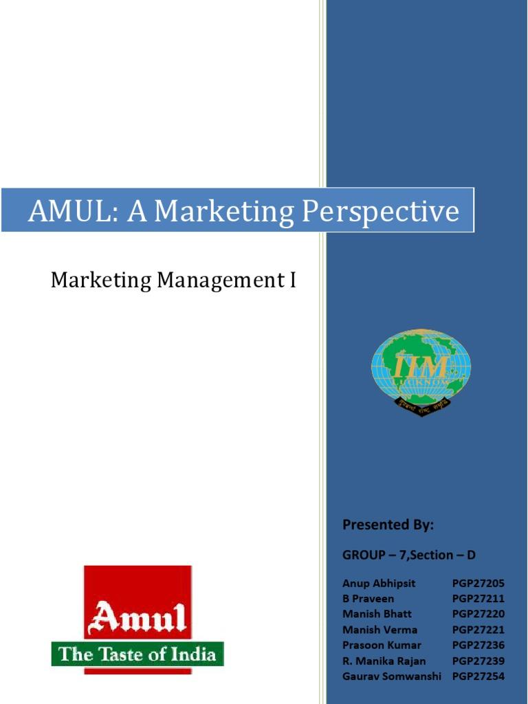 internal and external environment of amul