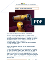 Reflective Telescope Activity Guide 173