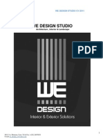 We Design Studio Cv 2011
