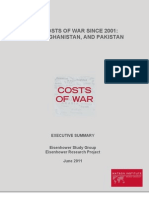 The True Cost of the Wars in Iraq, Afghanistan and Pakistan