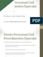 Direito Processual Civil - Procedimentos Especiais