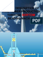 Phases Description Wind Tower Production With Sertom Bending