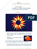 Unawe Paper Sunrays Guide