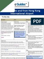 Hong Kong Airport Transfer Guide