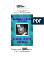 Becquer, Gustavo Adolfo - Crítica Literaria