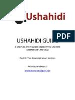 Ushahidi Manual (Admin Section)