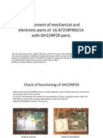 Repair of LG Rewriter 6721RFN021A
