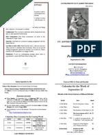 Bulletin 2011-09-11