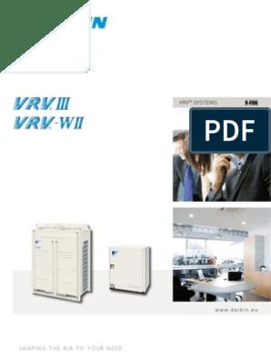 VRV III Daikin Catalogue | Air Conditioning | Hvac