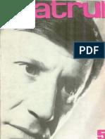Revista Teatrul, nr. 5, anul XIII, mai 1968