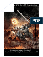 Warhammer RPG Skirmish Game Rules