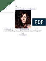Alanis Morissette será entrevistada pelo blog Conscious Transitions