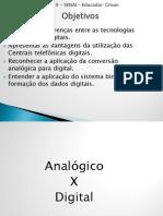 Introdução ao estudo das centrais digitais