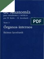 Atlas de Anatomia II Organos Internos