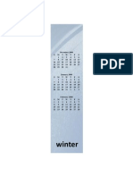 03 Bookmark 4season Winter Back 8 Revised