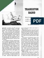 Vintage Transistor Radio