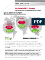 Sponsor Globe Golf Sponsorship Insight - www.sportbusiness360.com