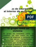 Sistemas de Interacción al Interior de un Grupo