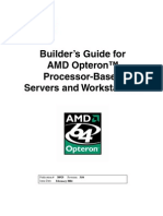 Builders Guide - AMD Opteron Processor Based Servers & Workstations
