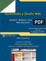 Unidad II Modelo Web educativas