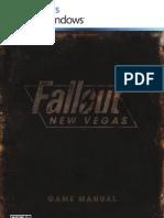 Fallout New Vegas Manual