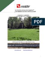 Manual de cálculos hidráulicos e instalación, Áreas verdes