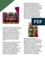 Dia de Los Muertos Student Use Article