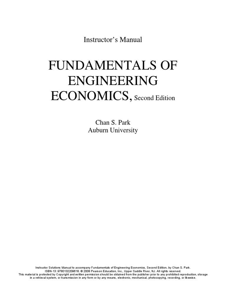 Basics Of Engineering Economy 2nd Edition Pdf