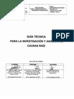 800-160000-DCO-GT-043- Guía Técnica Investigación ACR