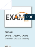 Manual Supletivo Online_CANDIDATO_VERSÃO FINAL